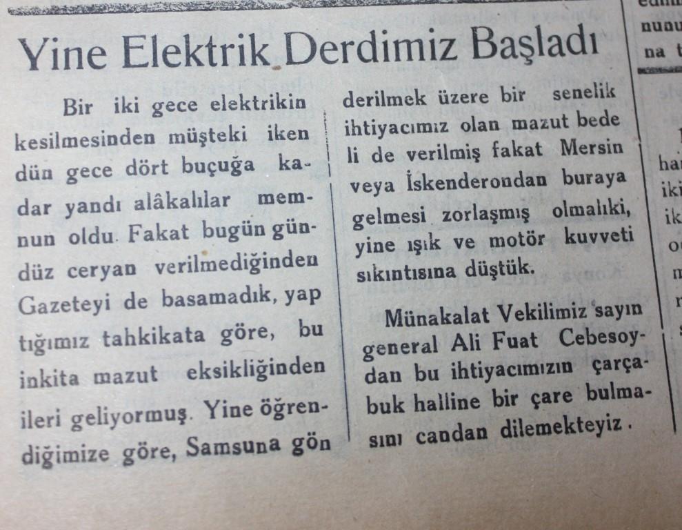 Samsun'un Geçmişine Bu Haberler Işık Tutuyor galerisi resim 9