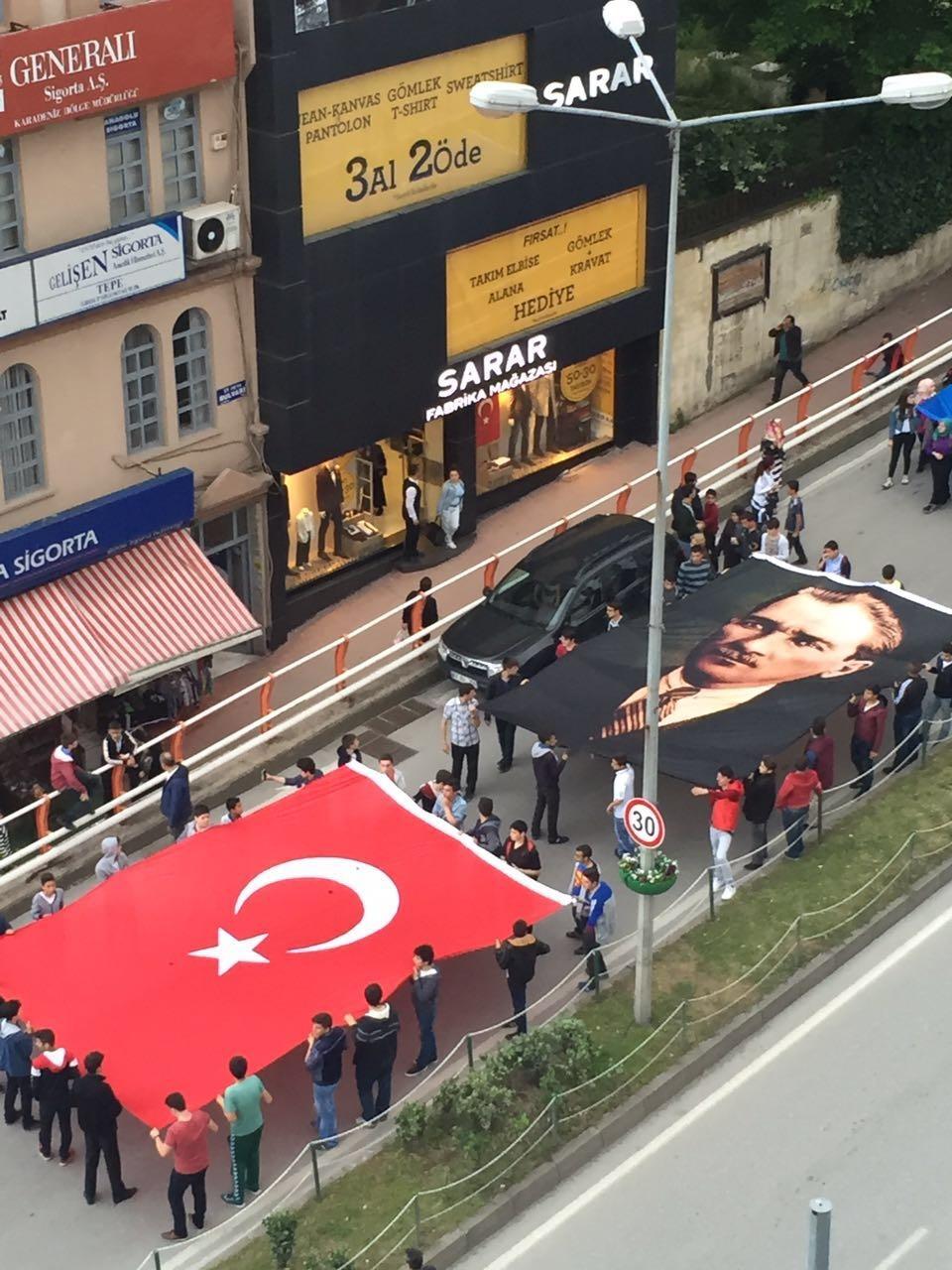 Samsun'da Coşkulu ''19 Mayıs'' galerisi resim 14