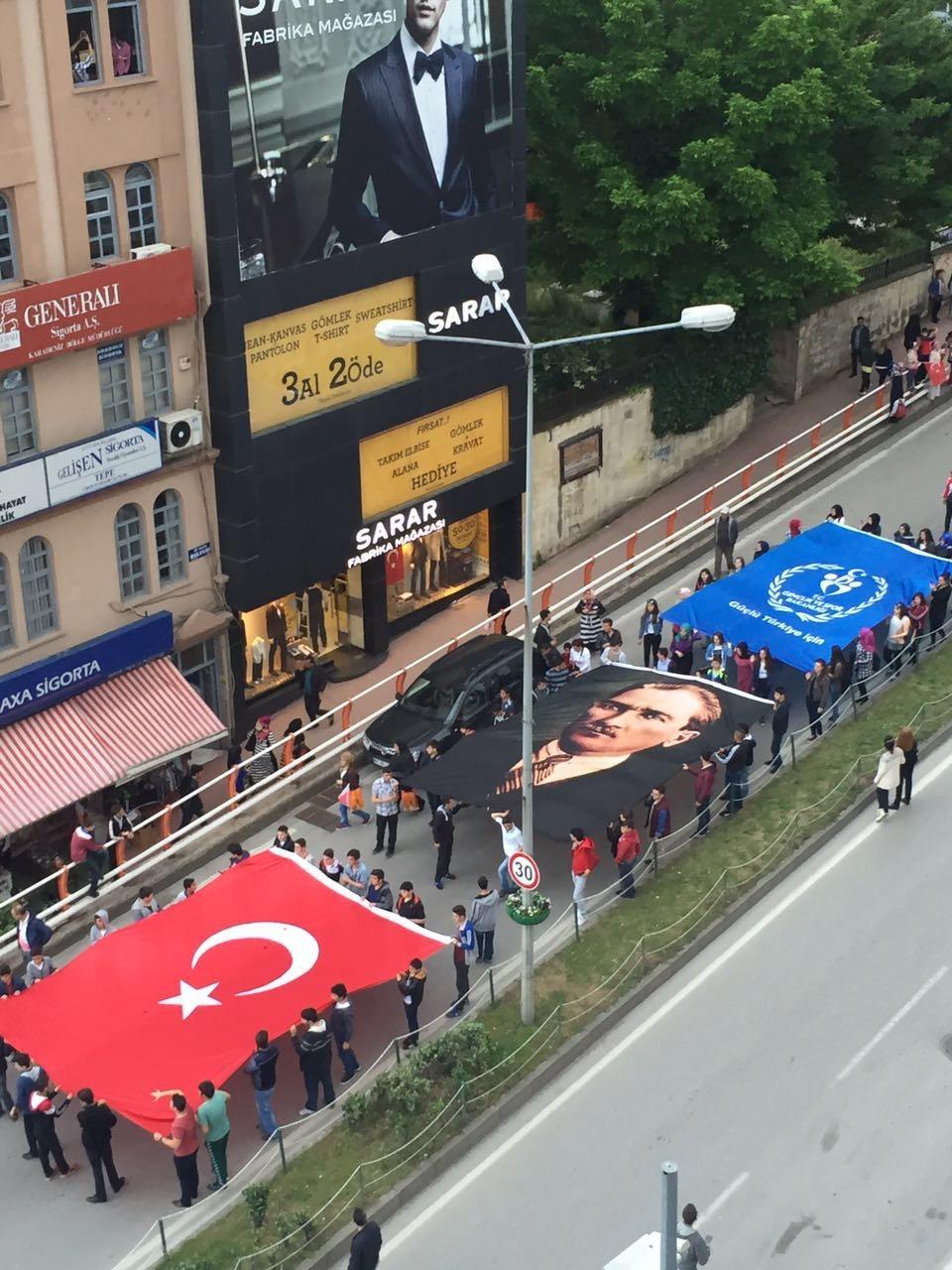Samsun'da Coşkulu ''19 Mayıs'' galerisi resim 15