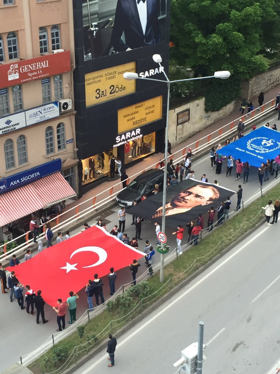 Samsun'da Coşkulu ''19 Mayıs'' galerisi resim 9