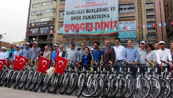 """Samsun'da """"Sağlıklı Beslenme ve Spor Panayırı"""" galerisi resim 8"""