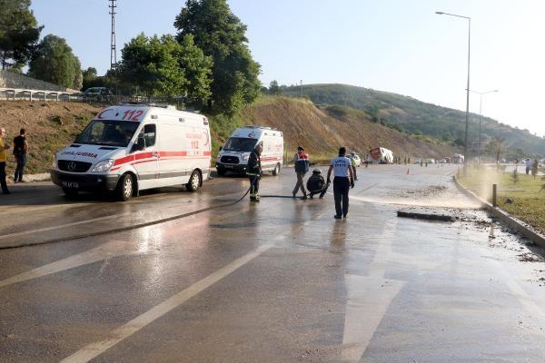 Samsun'daki Feci Trafik Kazasında 38 Kişi Yaralandı galerisi resim 5