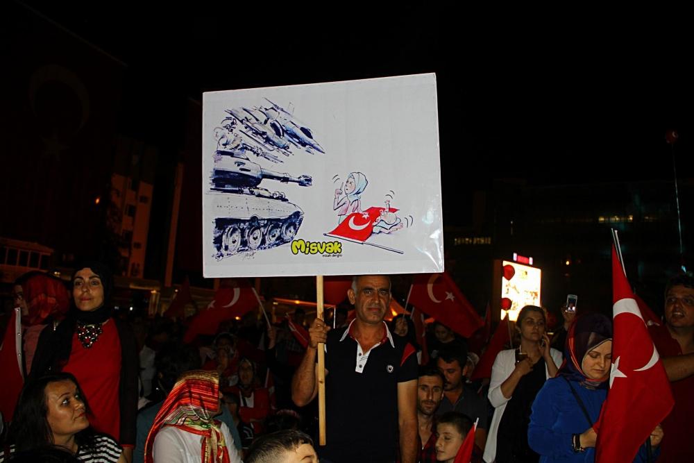 Samsun 'Demokrasi' Nöbetinde galerisi resim 5