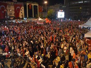Samsun 'Demokrasi' Nöbetinde