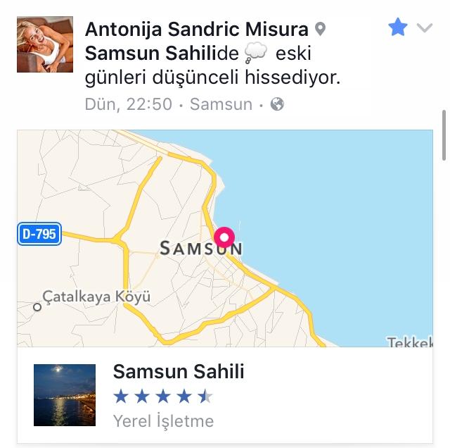 Antonija Misura Sandric Samsun'da Yer Bildirimi Yaptı galerisi resim 21