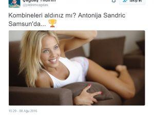 Antonija Misura Sandric Samsun'da Yer Bildirimi Yaptı