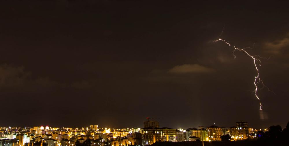 Samsun'da Şimşekli Gece galerisi resim 4