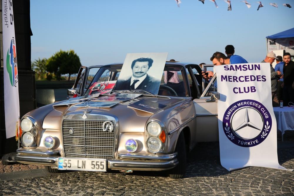 Mercedes Tutkunları Samsun'da Buluştu galerisi resim 10