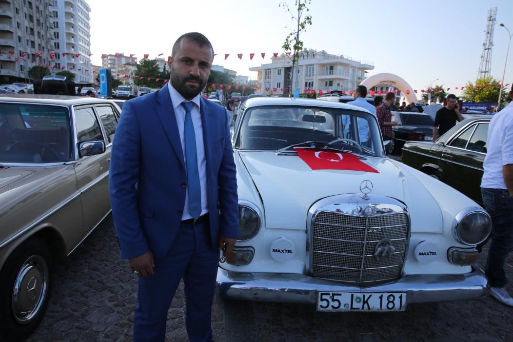 Mercedes Tutkunları Samsun'da Buluştu galerisi resim 5
