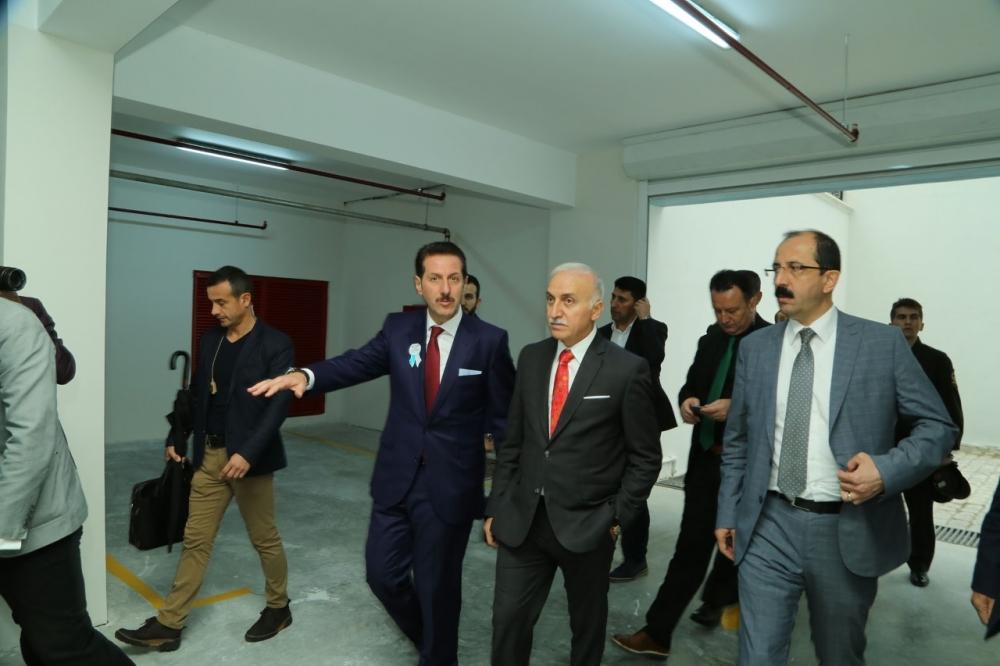 Samsun İlkadım'da Derebahçe Sosyal Tesisleri'ne Görkemli Açılı galerisi resim 1