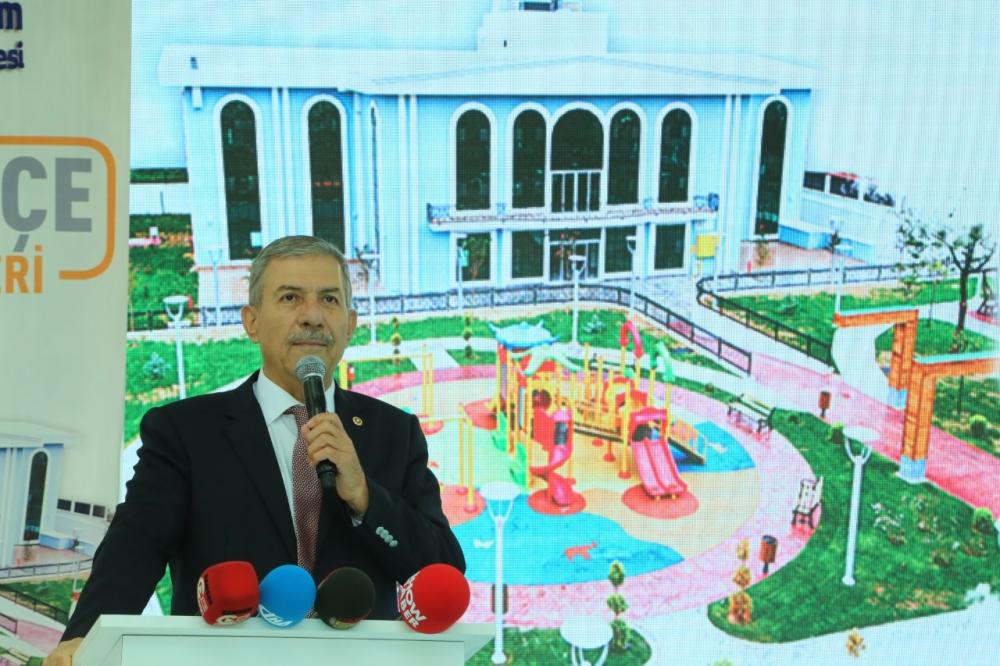 Samsun İlkadım'da Derebahçe Sosyal Tesisleri'ne Görkemli Açılı galerisi resim 20