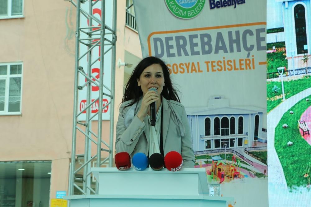 Samsun İlkadım'da Derebahçe Sosyal Tesisleri'ne Görkemli Açılı galerisi resim 7