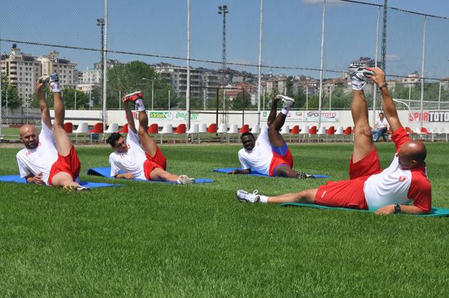 Samsunspor SüperLig hazırlıklarına başladı galerisi resim 12