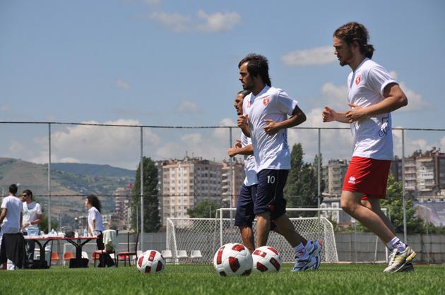 Samsunspor SüperLig hazırlıklarına başladı galerisi resim 18