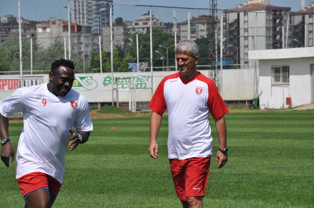 Samsunspor SüperLig hazırlıklarına başladı galerisi resim 9
