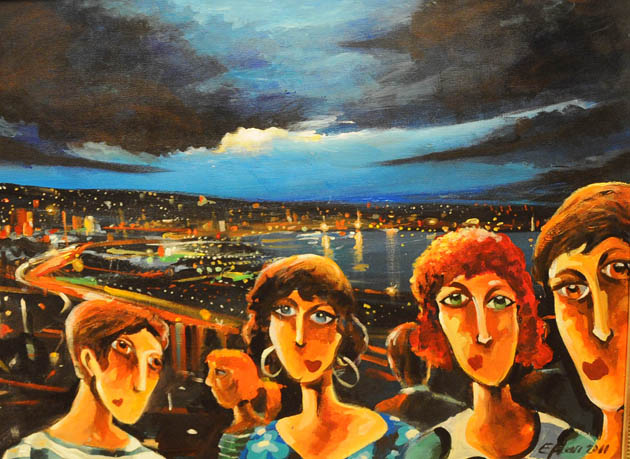 Canik Sanat Kampı Resim Sergisi galerisi resim 16