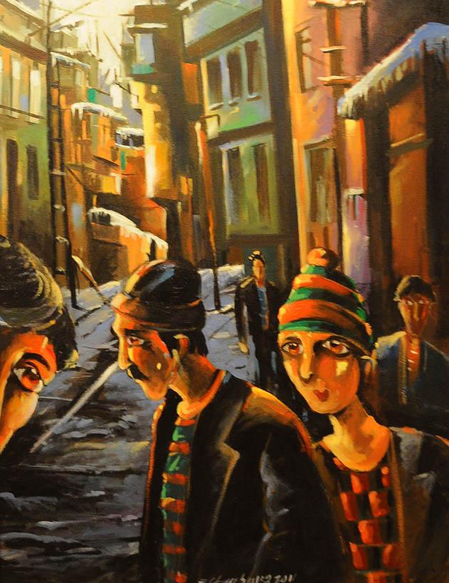 Canik Sanat Kampı Resim Sergisi galerisi resim 17