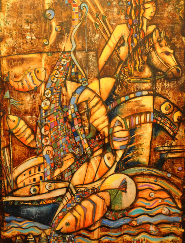Canik Sanat Kampı Resim Sergisi galerisi resim 20