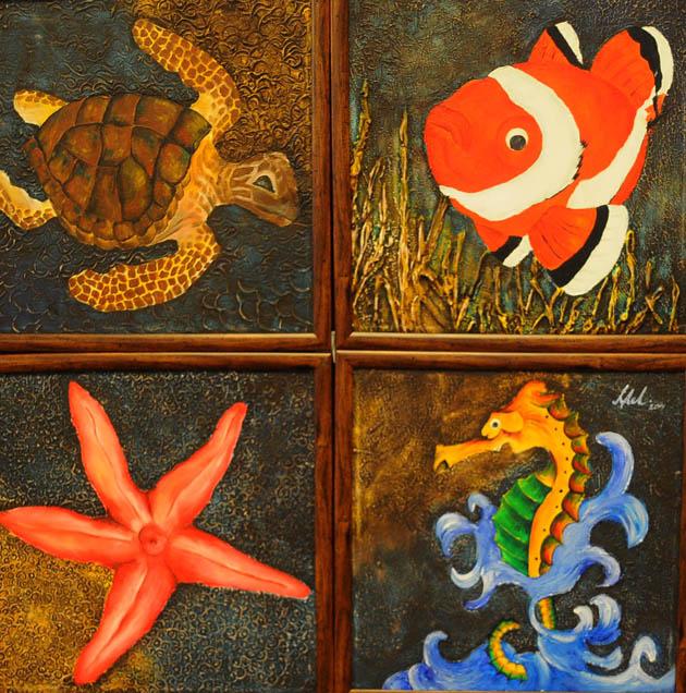 Canik Sanat Kampı Resim Sergisi galerisi resim 25