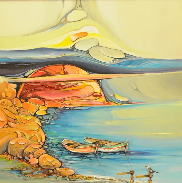 Canik Sanat Kampı Resim Sergisi galerisi resim 4