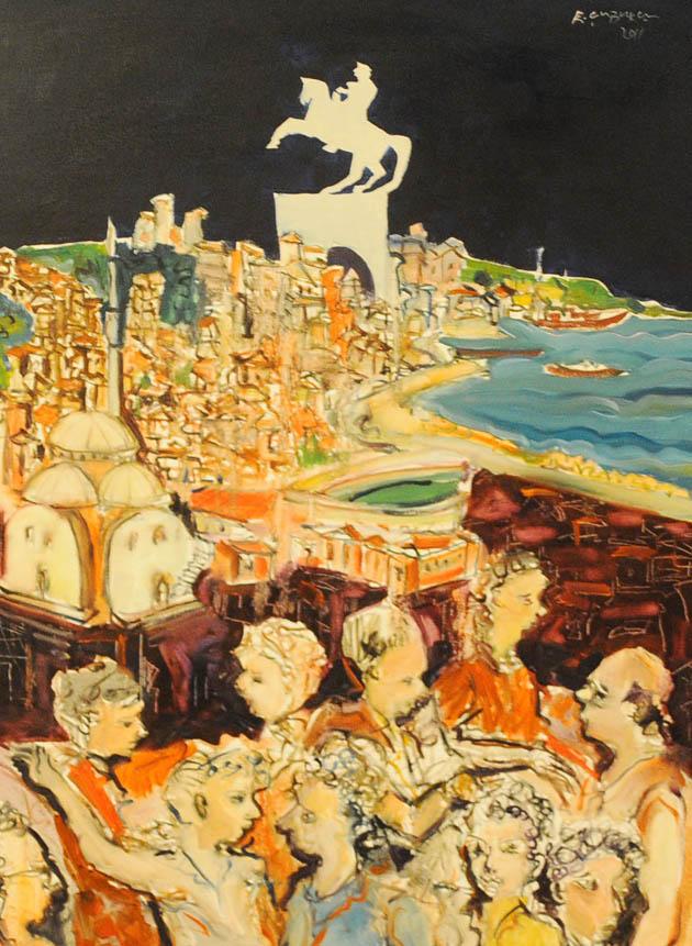 Canik Sanat Kampı Resim Sergisi galerisi resim 8