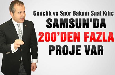 Samsun'da 20
