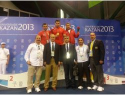 Rıza Kayaalp, Rusyada Altın Madalya Aldı