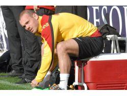 Sneijder, Takımla Birlikte Çalışmalara Katıldı