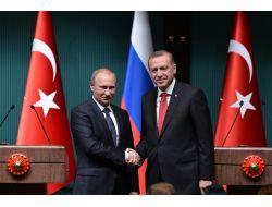 Cumhurbaşkanı Erdoğan ile Putin Anlaştı