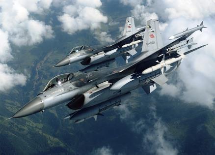 Tunceli'de PKK Hedeflerine Hava Harekatı