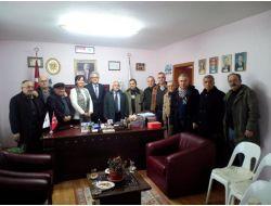 Chp Aday Adayı Turpçu'dan Başkan Güneş'e Ziyaret