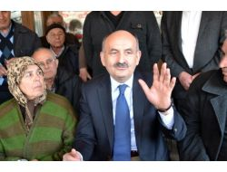 Bakan Müezzinoğlu'ndan Polat'a Ziyaret