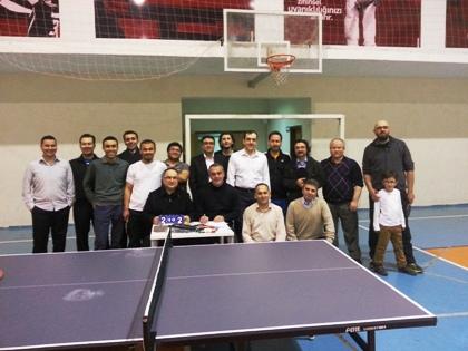 SAYMER'li Doktorlar Masa Tenisi Turnuvasında Bir Araya Geldi