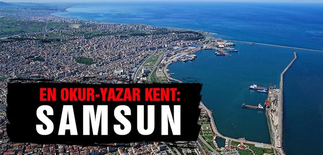 Karadeniz'in En Okur-Yazar Kenti Samsun