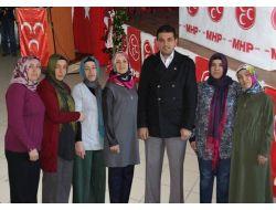 Alaplı'da Mhp Kadın Kolları Teşkilatı Kuruldu