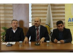 Türkyılmaz, Ak Parti İl Teşkilatı İle Bir Araya Geldi