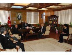 Vali Köşger'e Vergi Haftası Ziyareti