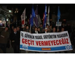 'İç Güvenlik Yasa Tasarısı'na Protesto