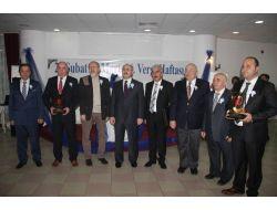 Sinop'ta Vergi Rekortmenleri Ödüllendirildi