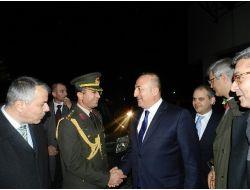 Çavuşoğlu Arnavut Mevkidaşı Buşati İle Görüştü