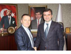 Sarıoğlu'ndan Başkan Yemenici'yi Ziyaret Etti