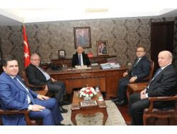 Gaziantep Ticaret Borsası Başkanı'nın Samsun Ziyareti