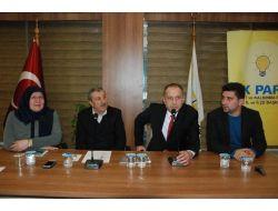 Ak Parti Cihat İnan Teşkilatları Ziyaret Ediyor