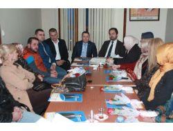Sarıoğlu Akçakoca Teşkilatını Ziyaret Etti