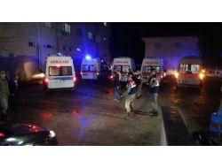 Şehitlerin Naaşları Akçadağ Devlet Hastanesi Morgunda