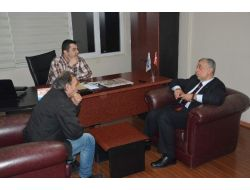 Ak Parti Trabzon Milletvekili Aday Adayı Asım Aykan'dan İha'ya Ziyaret