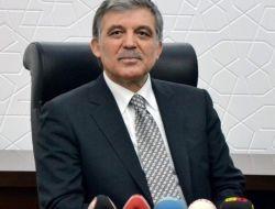 Gül'den 'Aktif Siyaset' Açıklaması