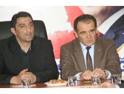 Ak Parti Milletvekili Aday Adayı Kamuran Aşkar'dan Devrek İlçe Teşkilatına Ziyaret