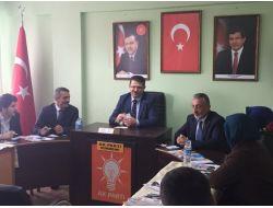 Çakır Ak Parti Teşkilatlarını Geziyor