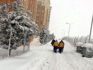 Kar Esareti Hastaları Vurdu